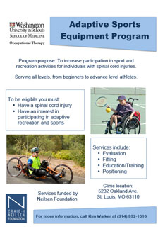 Seeking participants for clinical program on adaptive sports and recreation