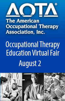 AOTA Occupational Therapy Education Virtual Fair - August 2