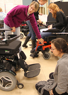 Assistive Technology Class Provides Hands-on, Interactive Lab Experiences